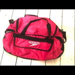 Speedo Medium Pink Duffle Bag